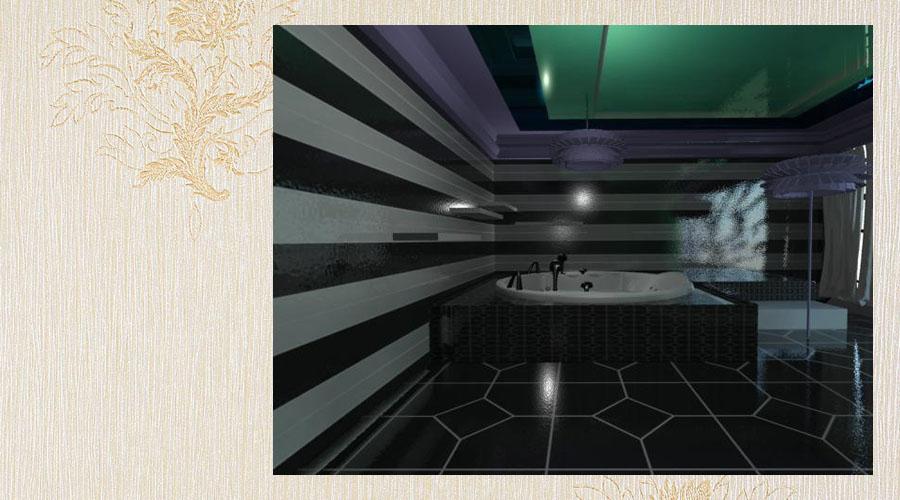 wizualizacja projekt wnętrza w lofcie