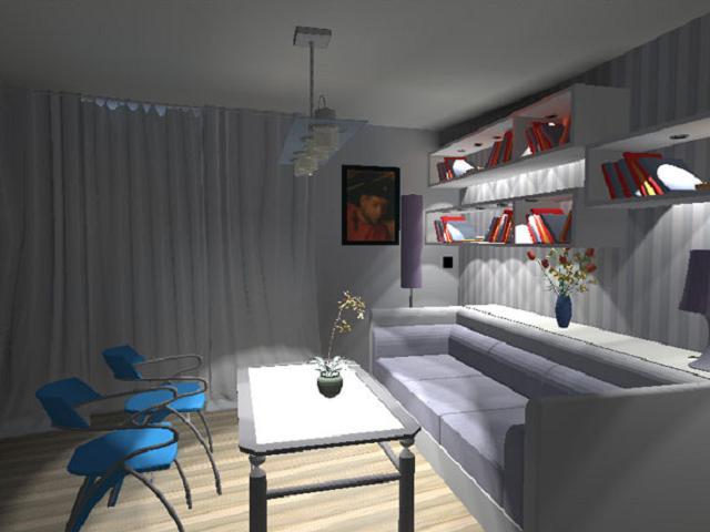 wnętrze mieszkania w bloku