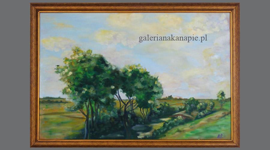 Obraz na ścianę: pejzaż wiejski