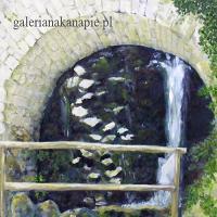 obraz wodospadu