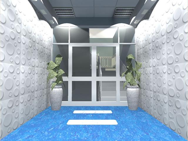 wizualizacja holu wejściowego
