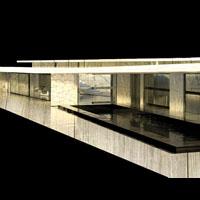 Rendering domu z basenem. Zaawansowana technologia pozwala na projekcję wyniku końcowego projektu jeszcze przed jego zakończeniem.