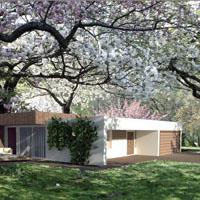 Wizualizacja domu jednorodzinnego daje możliwość uwzględnienia całego otoczenia domu na etapie jego projektowania